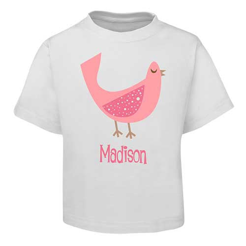 Pink Dove  Kids T-Shirt