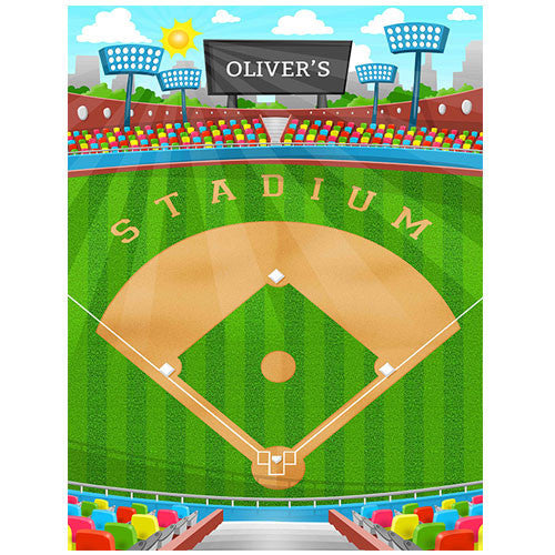 Medium Baseball Play Blanket