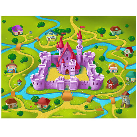 Small Castle Play Blanket