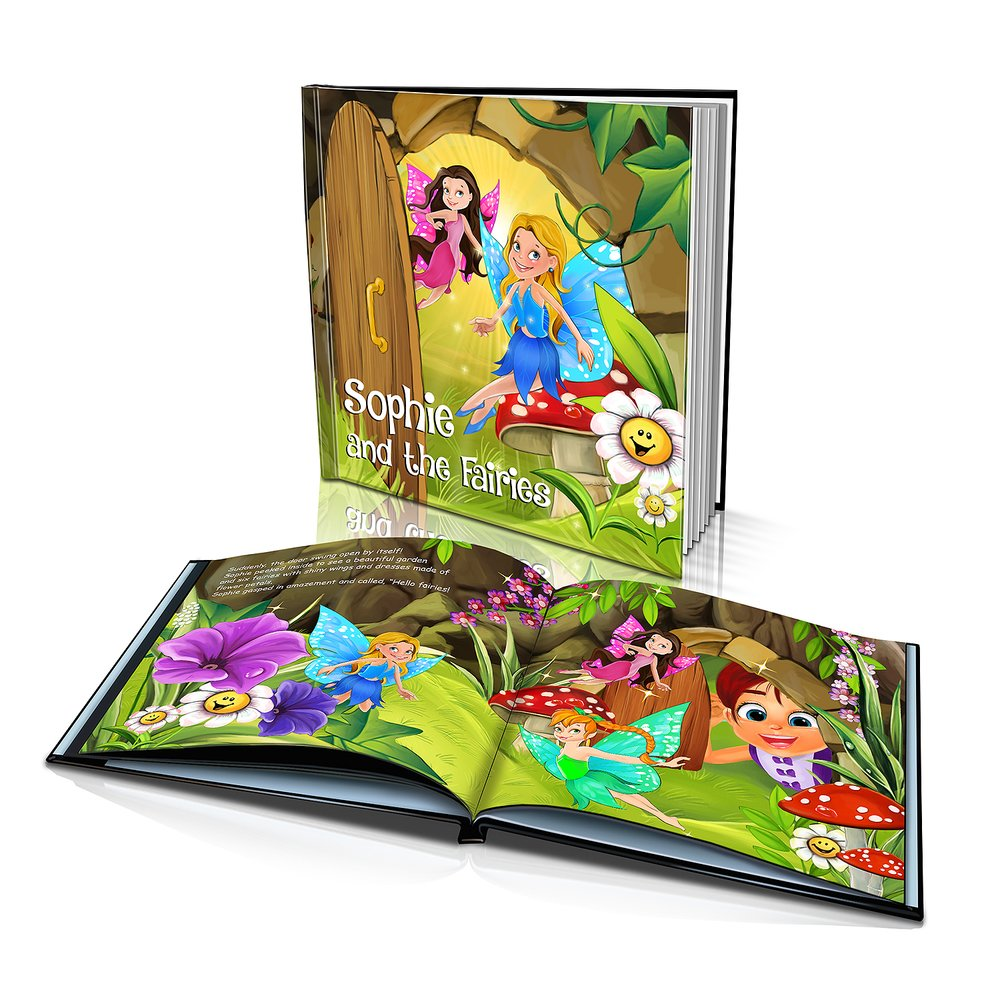 Large Hard Cover Story Book - The Fairies