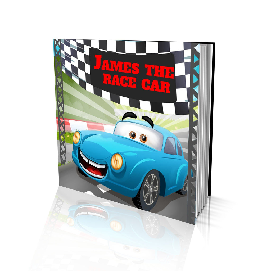 Large Soft Cover Story Book - The Race Car