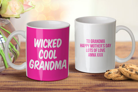Wicked Cool Grandma Mug