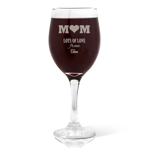 Mum Wine Glass Wine Glass (410ml)