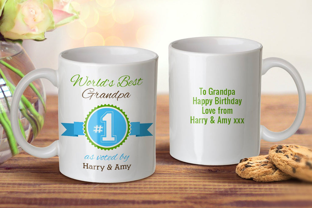World's Best Grandpa Mug - Grandpa