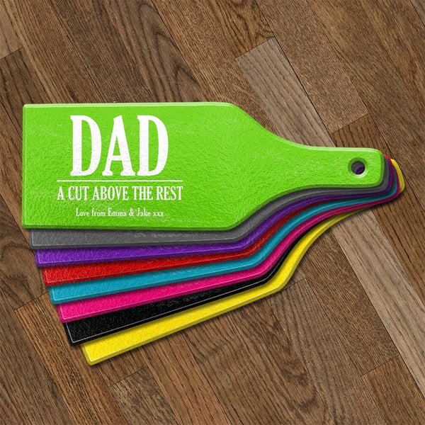 Father's Day Glass Cheese & Cutting Boards