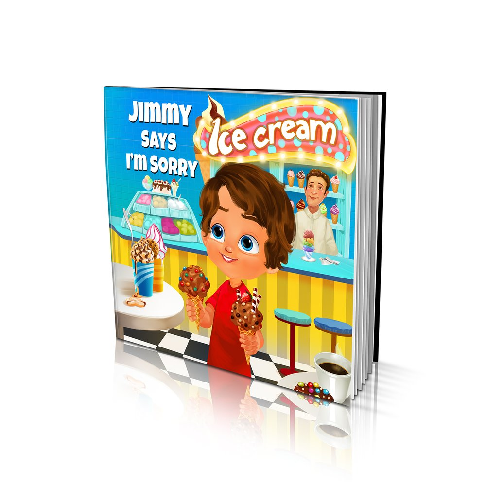 Large Soft Cover Story Book - Says I'm Sorry