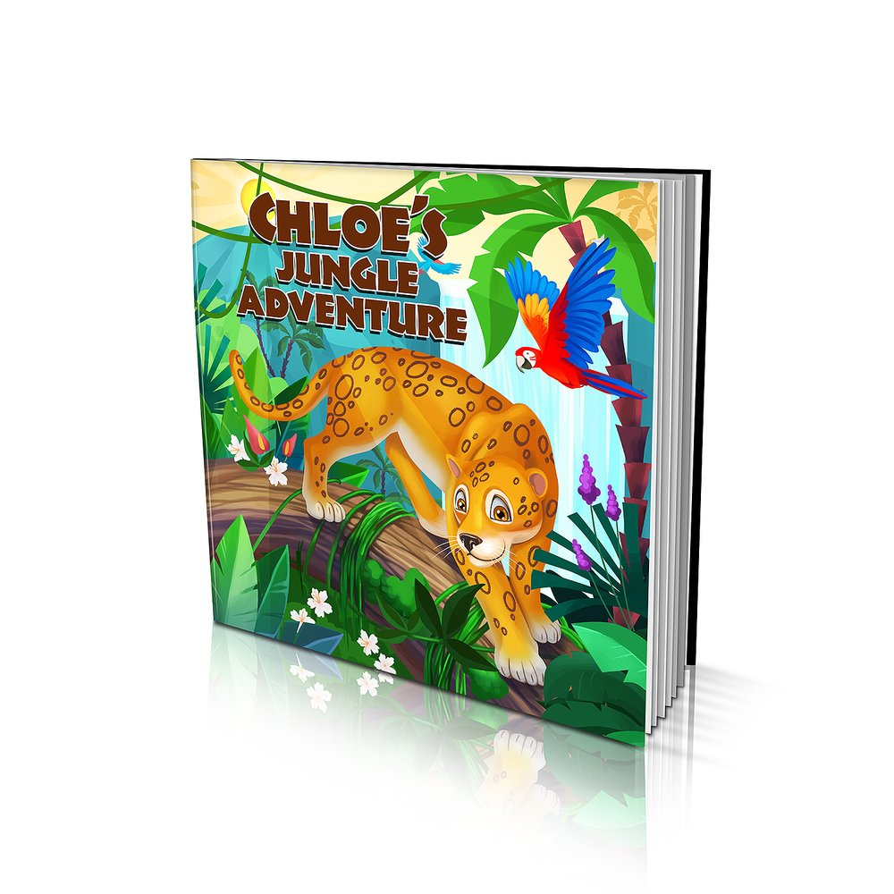 Large Soft Cover Story Book - Jungle Adventure