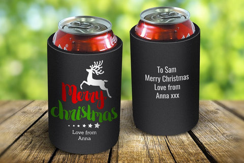 Christmas Reindeer Drink Cooler