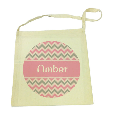 Library Bag - Chevron