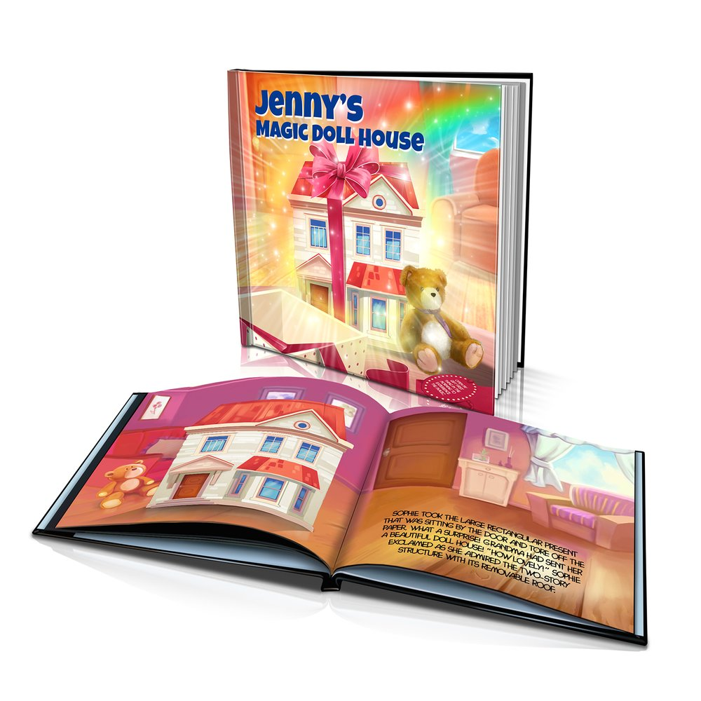 Large Hard Cover Story Book - The Doll House