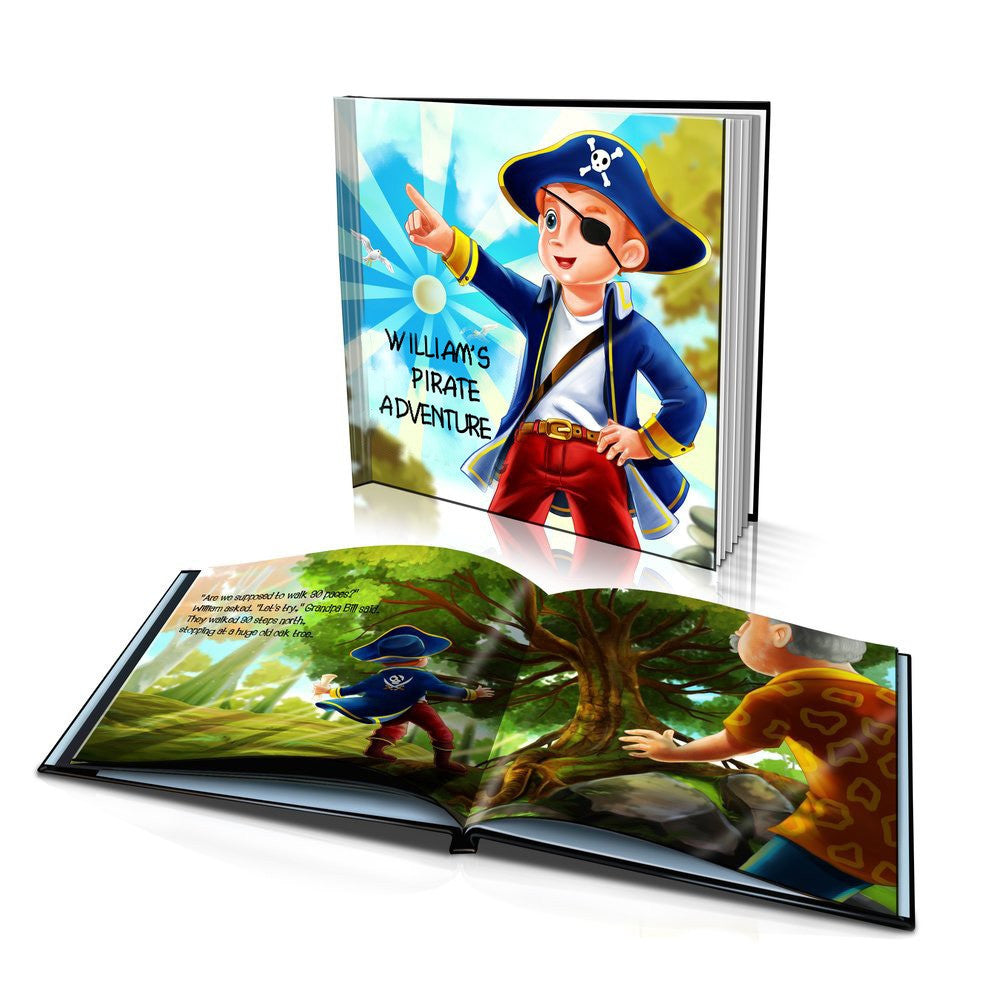 Pirate Adventure Hard Cover Story Book