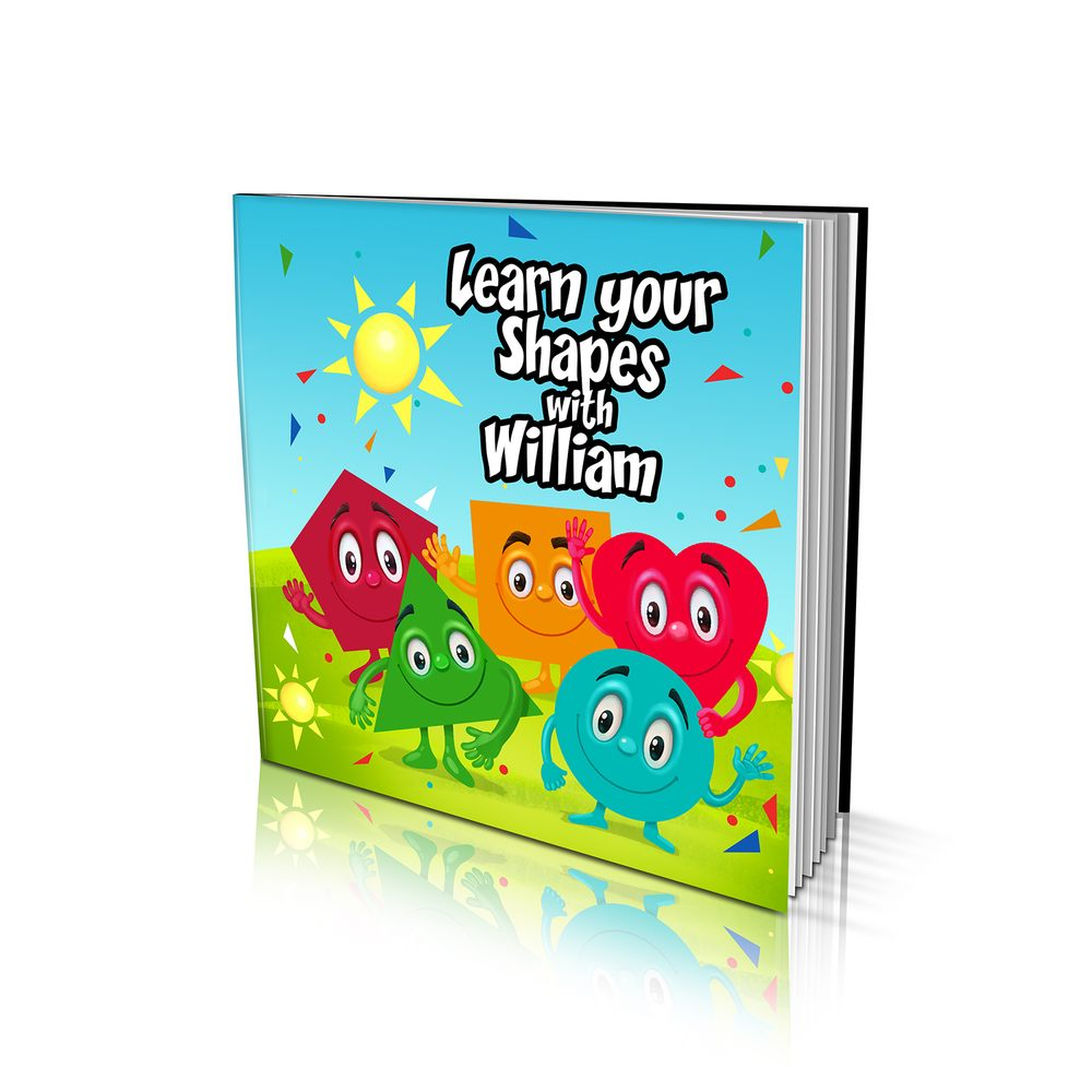 Soft Cover Story Book -Learn Your Shapes