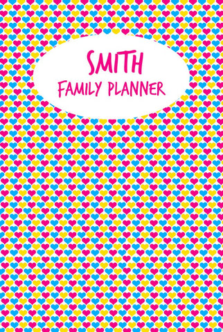 Hearts A3 Family Planner