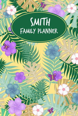 Tropical A3 Family Planner