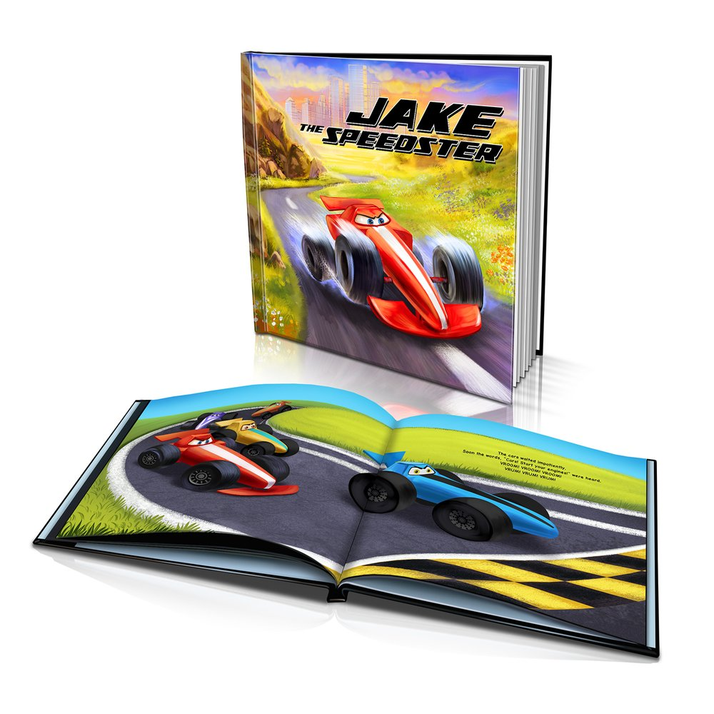 Large Hard Cover Story Book - The Speedster