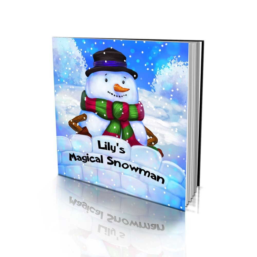 Large Soft Cover Story Book - The Magical Snowman