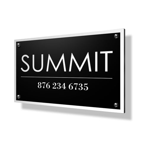 Summit Business Sign - 30x20""