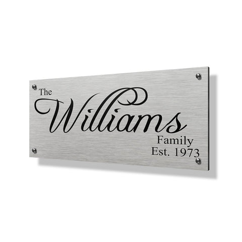 Williams Business Sign - 24x12""