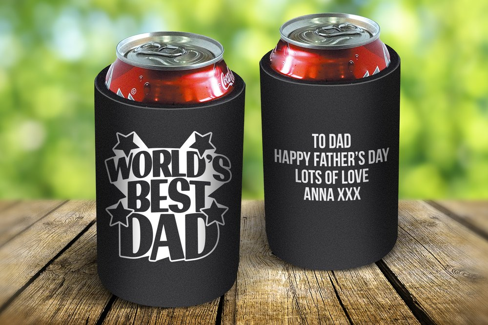 World's Best Dad Drink Cooler