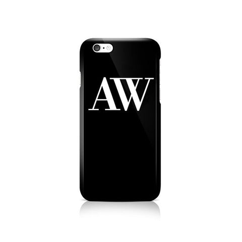 Black Phone Case - Apple iPhone