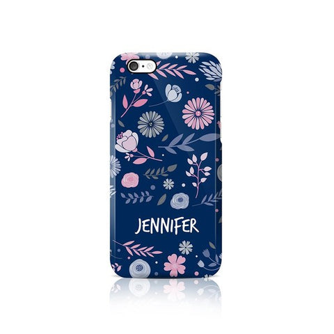 Floral Phone Case - Apple iPhone
