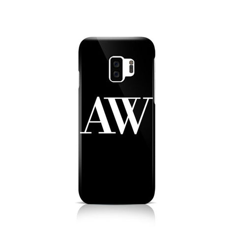Black Phone Case - Samsung Galaxy S8