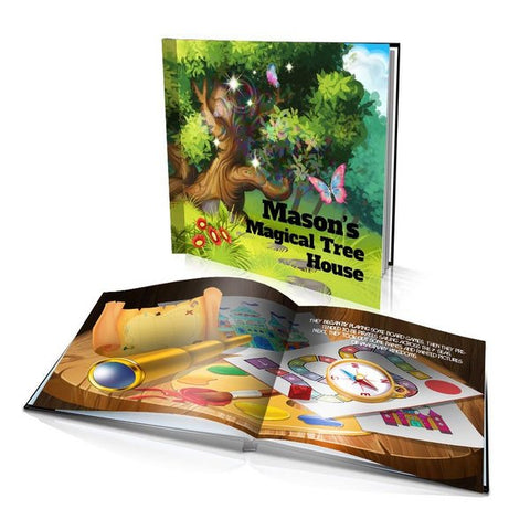 Large Hard Cover Story Book - Magical Tree House