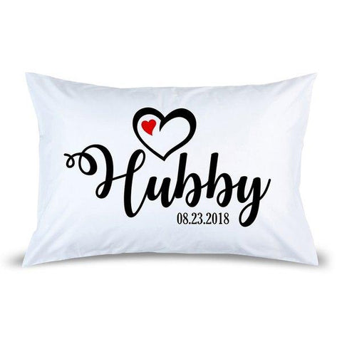 Hubby Pillow Case