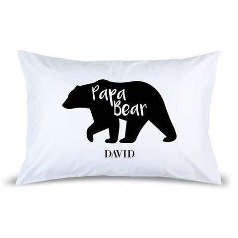 Papa Bear Pillow Case