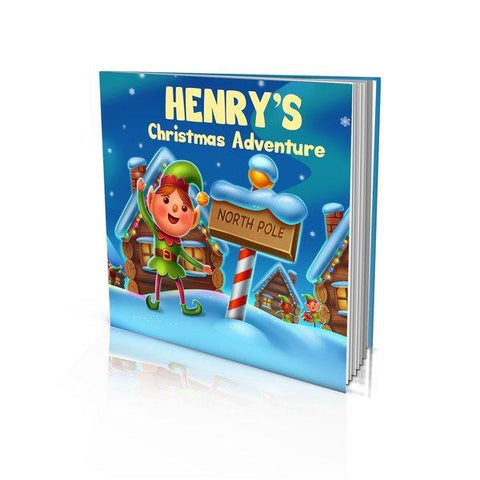 Christmas Adventure Large Hard Cover Story Book