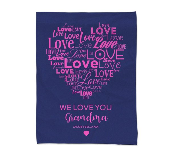 Love You Blanket - Large
