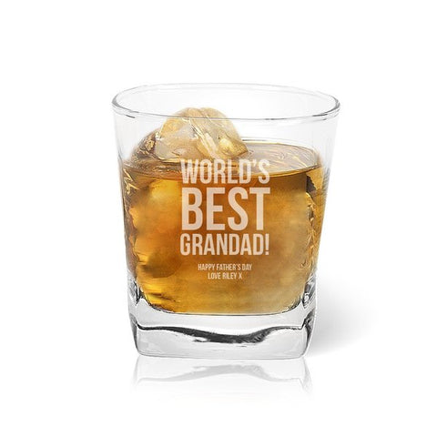 World's Best Tumbler Glass