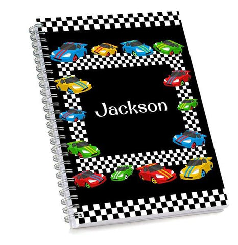 Race Cars Sketch Book