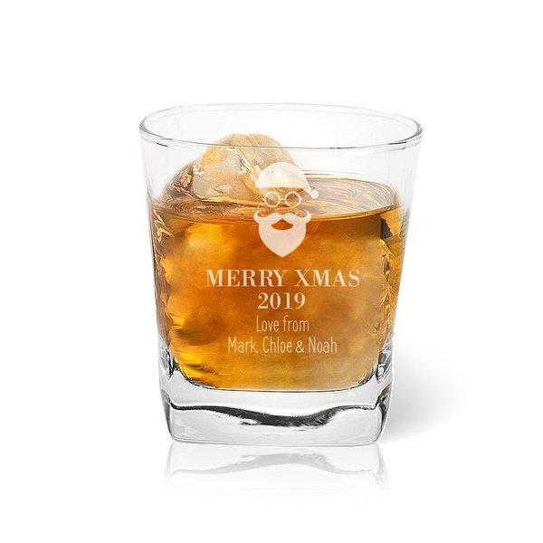 Christmas Engraved Glassware