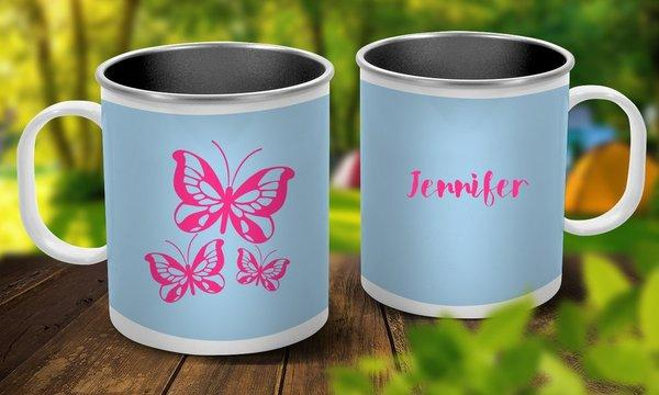 Butterflies Outdoor Mug