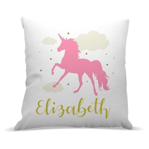 Pink Unicorn Premium Cushion Cover