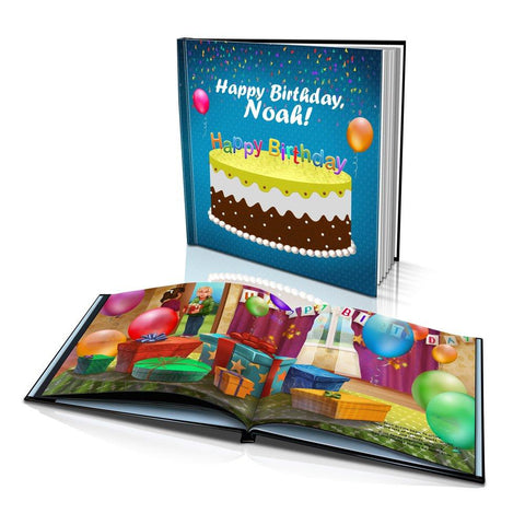 Happy Birthday to You Large Hard Cover Story Book
