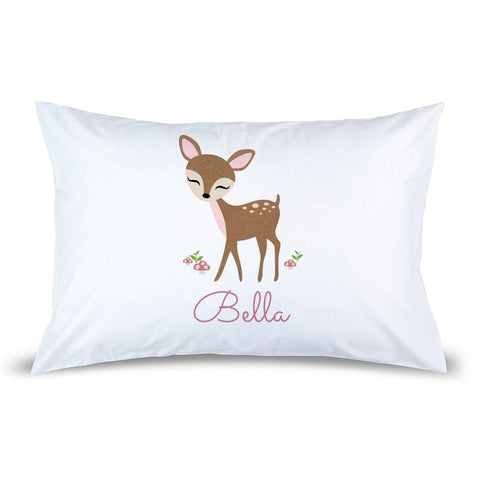 Cute Deer Pillow Case