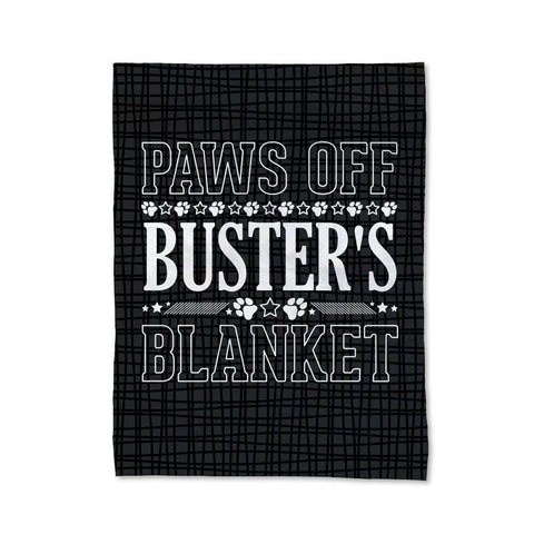 Paws Off Blanket - Medium
