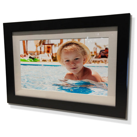 "11x13"" Black Frame with White Border (5x7"" Print)"