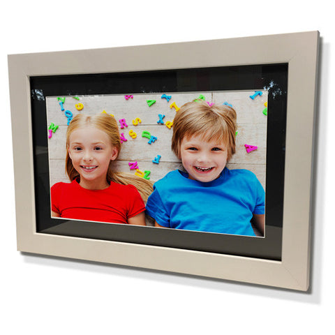 "11x13"" White Frame with Black Border (5x7"" Print)"
