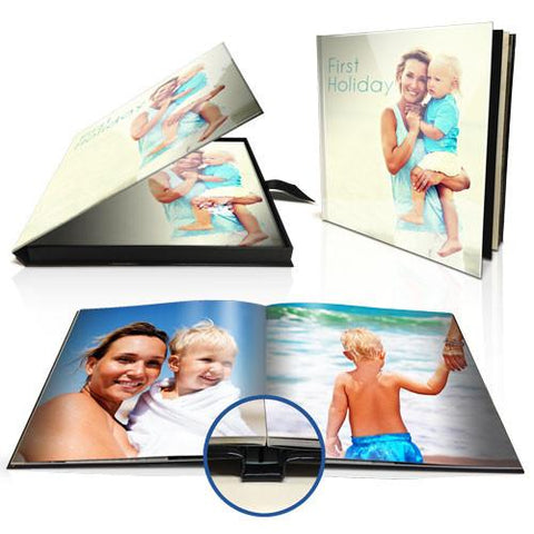"12 x 12"" Premium Layflat Photo Book with personalised presentation box"