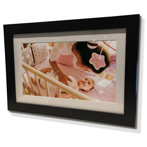 "13x15"" Black Frame with White Border (7x9"" Print)"