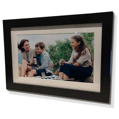 "24x28"" Black Frame with White Border (15x19"" Print)"