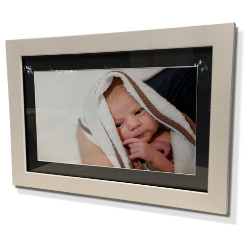 "24x28"" White Frame with Black Border (15x19"" Print)"