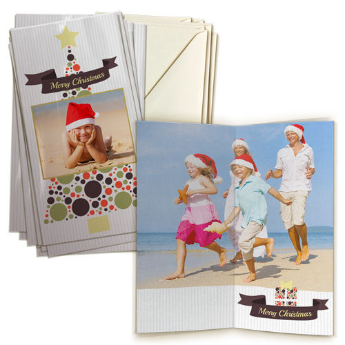 "4 x 8"" Double Sided Card (20 pack) Portrait"