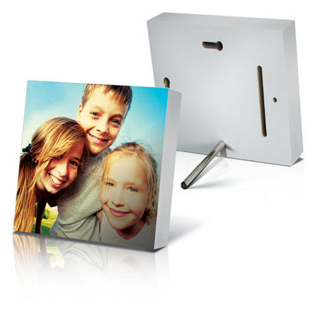 "8 x 8"" White Photo Block - Square"
