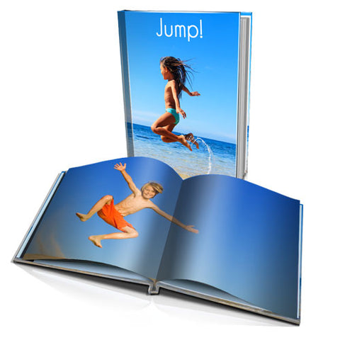 A4 Personalised Hard Cover Book