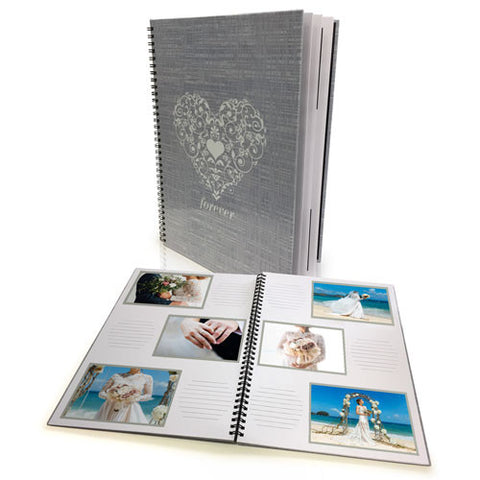A4 Spiral Bound Photo Book - 20 Pages (60 Photos)
