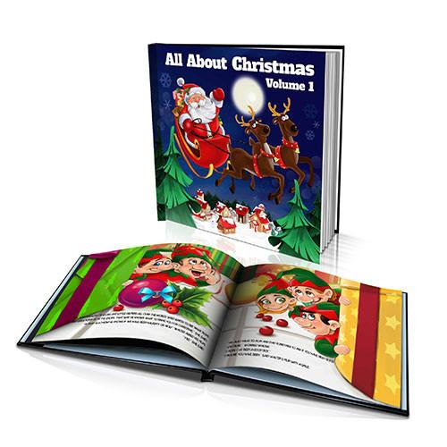 Large Hard Cover Story Book - All About Christmas Volume I